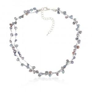 Naszyjnik B3H70221-3(naturalna perła rzeczna)