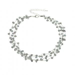 Naszyjnik 406502-3K (naturalna perła rzeczna)
